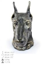 Doberman pincher - dog head resin figurine, high quality, Art Dog