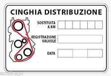35 adesivi cambio cinghia distribuzione  generico