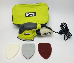 RYOBI CFS1503GK 1.2 Amp Corded 5.5 in. Corner Cat Finish Sander With Bag
