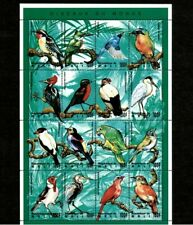 VINTAGE CLASSICS - Mali 1995 - Birds, Fauna and Flora - Sheet of 16 Stamps - MNH