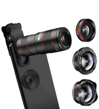 KNGUVTH 5-in-1 Telephoto Lens Kit with Universal Clip HX-S1248L-12x High Quality