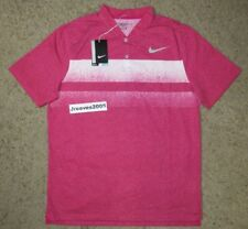 938d8d6ac Nike Golf Men s Polo Shirt Size Large Pink Blade Modern Fit Style 839491