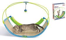 PET PARADE chat Balle Swing play station à bascule jouet Pet Entertainment Scratch Pad