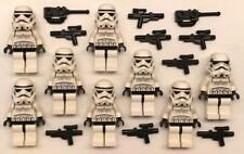 8 Lego Stormtroopers Minifig Lot: Star Wars Figures: army vintage 7667 10188