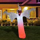 12 ft High Halloween Inflatable Narrow face Ghost Yard Decoration Indoor Outdoor