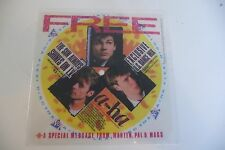 A-HA RARE FLEXI DISC THE SUN ALWAYS SHINES ON TV MESSAGE FROM MORTEN,PAL & MAGS
