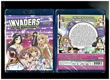 Invaders of the Rokujyoma - Complete Anime Series (Brand New Blu-ray Disc, 2015)