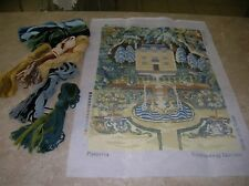 The National Trust - Paterna Large needlepoint tapestry with wools
