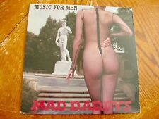 """MAD DADDYS """"MUSIC FOR MEN"""" 1985 PVC NM/ex OUT OF PRINT 6TRX EP PSYCHOBILLY"""