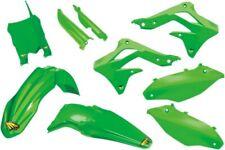 Cycra Powerflow Plastics Kit Green Fits Kawasaki KX250F 2013-2014 1CYC-9307-72