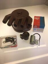 Zündungs Set Kappe Kontakt Finger Kondensator  Fiat X 1/9 Ab. 12. 1978---Ende