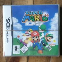 Rare New Super Mario 64 DS PAL For Nintendo DS Factory Sealed Fast Post Tracked