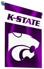 "Kansas State Wildcats 13"" x 18"" Two-Sided Garden Flag NCAA Licensed"