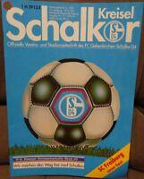 FC Schalke 04 Schalker Kreisel Magazin 18.05.1991 2.Bundesliga SC Freiburg /583