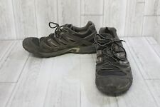Salomon Eskape GTX Hiking Shoe- Men's Size 12, Black/Asphalt/Aluminum
