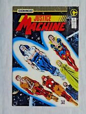 Justice League No. 2 February 1987 Comico The Comic Co. First Print VF/NM (9.0)
