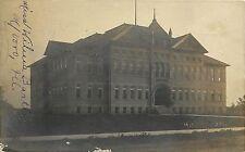 c1906 RPPC Postcard; High School, Murphysboro IL Jackson County Posted