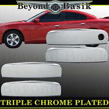 CHARGER Chrome Door Handle Covers 4 DOOR Overlays trims caps 11-16