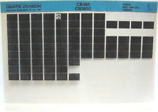 Honda CB360 CB360G 1974 Parts List Microfiche h255