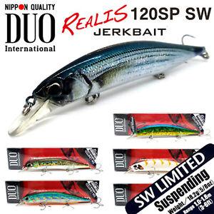DUO International REALIS JERKBAIT 120 SP SW LIMITED SUSPENDING JAPAN Lure
