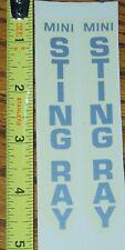 NOS Schwinn mini Stingray decals - authentic original