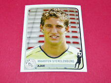 27 M STEKELENBURG AJAX AMSTERDAM UEFA PANINI FOOTBALL CHAMPIONS LEAGUE 2005 2006