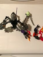Assorted LEGO Bionicle & Hero Factory Parts & Pieces Almost Complete Figure MASK