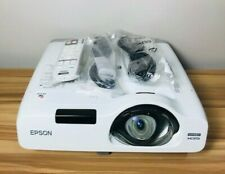 EPSON POWERLITE 525W 3LCD PROJECTOR LAMP HOURS 2310H HDMI WXGA H672A