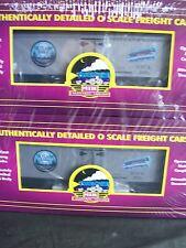 Skyland Egg's Co.  36' Woodsided Reefer Cars O Scale TWO Pack # 6002 & 6009  New