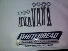 Sprint Car, NEW  titanium radius rod bolt kit w/spacer bolts for front end