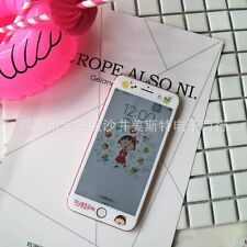 """Verre trempé film dessin animé mignon protecteur d'écran pour iPhone 7 4.7"""" housse uk"""