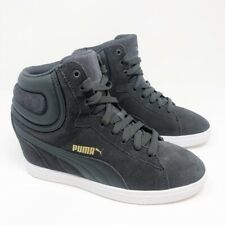 puma wedge sneakers size 10