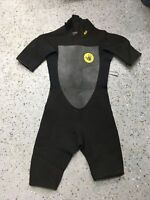 Body Glove Childs Spring Shorty Wetsuit 2/1 Kids Youth Juniors Sz 12 15