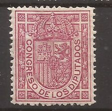 1896-98 Escudo España Edifil 230* MH VC 10,50