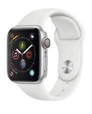 New Sealed Apple Watch Series 4 44 mm Silver Aluminum Case White Band MU6A2LL/A