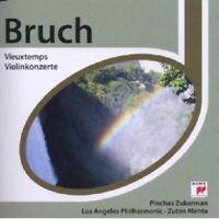 PINCHAS MEHTA ZUBIN ZUKERMAN - ESPRIT/VIEUXTEMPS BRUCH VIOLINKONZERTE  CD NEU