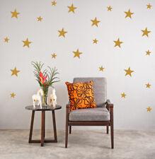 Stars Wall Stickers Gold Christmas Decal Kid Vinyl Art spots Mural Polka Dots