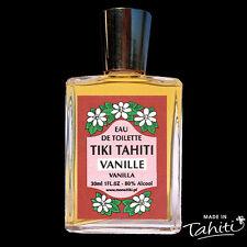 EAU DE TOILETTE MONOI TIKI TAHITI 30 ML PARFUM VANILLE (SANS SPRAY)