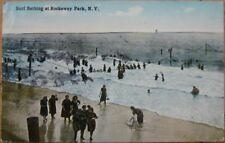 1914 Postcard: Bathers, Rockaway Beach- Long Island, NY