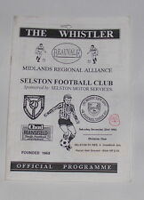 Selston FC Reserves -v- Cromford Juniors 1995-1996