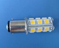 10x BA15D 1142 LED Car bulb Boat light 18-5050 SMD LED DC 12V 300LM Warm White
