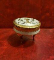 Bonito Caja Recuerdo Comunión en Porcelana de Limoges