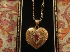Diamond Yellow Gold Ruby Fine Necklaces & Pendants