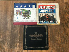 Jefferson Airplane 3 LP Lot - After Bathing Baxter's, Takes Off, The Worst Of
