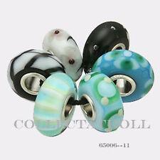 Authentic Trollbeads Silver Universal  Kit - 6 Beads Trollbead 65006 *11*