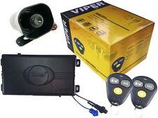 Viper 3100V One Way Car Security Alarm System W/ 2 Remotes Shock Sensor & Siren