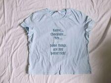 Ladies Pale Blue t-shirt