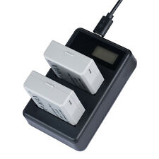 USB Dual Charger for Canon LP-E5  500D 450D 1000D Kiss X2 X3