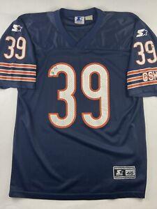 VTG STARTER Chicago Bears Curtis Enis #39 Blue Orange NFL Jersey 1990s Medium