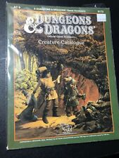 AC9 CREATURE CATALOGUE DUNGEONS & DRAGONS Official Game Accessory TSR 9173
